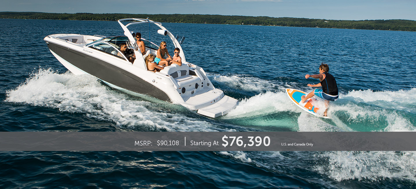 6 people surfing in a Phantom Grey HD 220